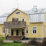 kattoremontti, konesaumakatto, peltikatto, Pelti-Saari, Salo, Varsinais-Suomi, Uusimaa